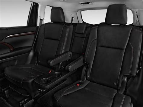 Toyota Highlander How Many Seats Image 2015 Toyota Highlander Fwd 4 Door V6 Limited