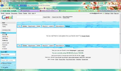 gmail themes cute cam rissa i heart gmail and d will