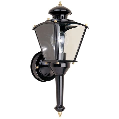 Outdoor L Post Motion Sensor by Outdoor Cylinder Light Fixtures Lowes Lighting Motion