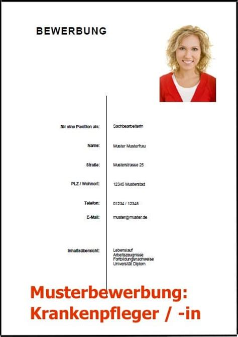 Bewerbungsschreiben Krankenpfleger Bewerbungsschreiben Krankenpfleger Bewerbung Vorlage