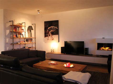 eingerichtete wohnzimmer apartment sunset nord zandvoort firma