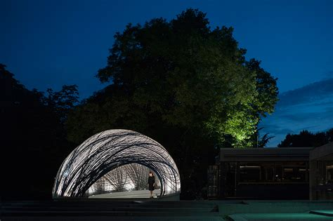 Pavillon Stuttgart by Subaquatic Water Spider Nests Inform Icd Itke Research