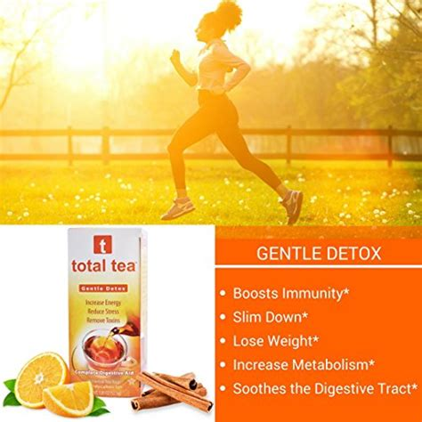 Total Tea Gentle Detox Directions by Total Tea Gentle Detox Tea 25 Sealed Teabags Herbal