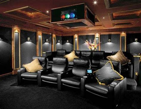 home theatre interiors family pantry collectibles home theater ideas