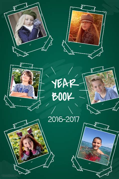 8 Yearbook Page Templates That Are Ready To Use Yearbook Collage Template