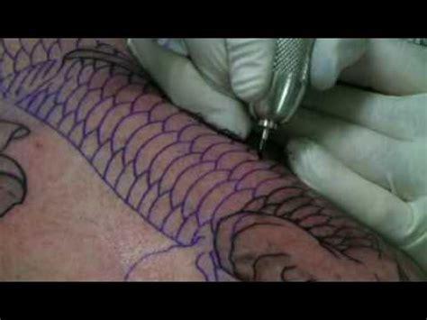 koi tattoo machine swashdrive tattoo machine koi outline youtube