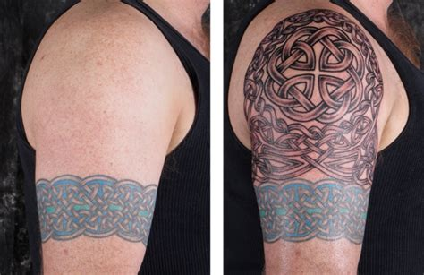 Building a Celtic Sleeve ? LuckyFish, Inc. and Tattoo Santa Barbara