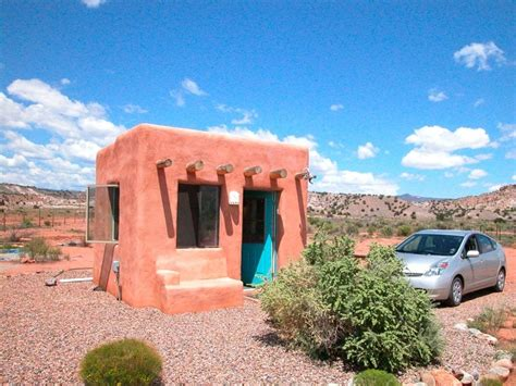 Adobe Style House by Tiny Adobe Casita