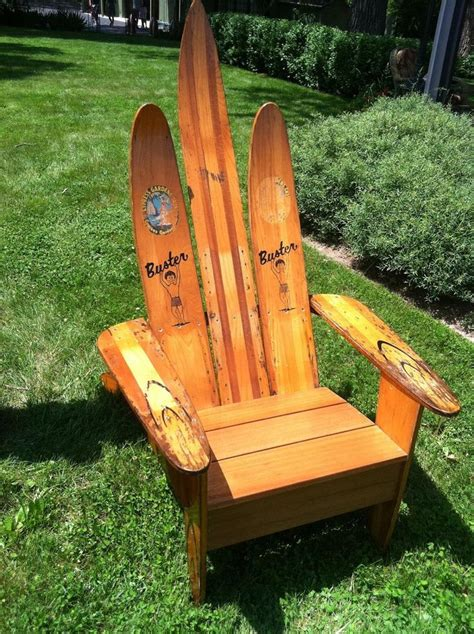 water ski chair  lake style pinterest