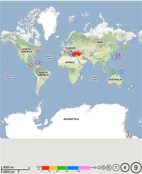 Earthquake Data Api | shaken not stirred the earthquake data portal api