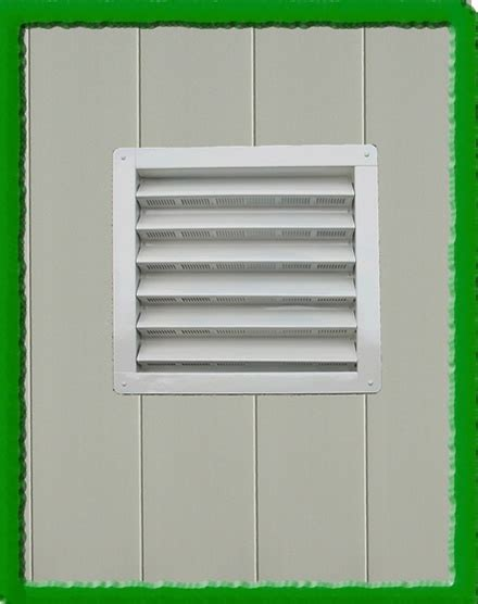 large 12x12 shed vent