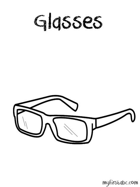 eyeglasses coloring pages free coloring pages of nerd glasses clip art sunglasses