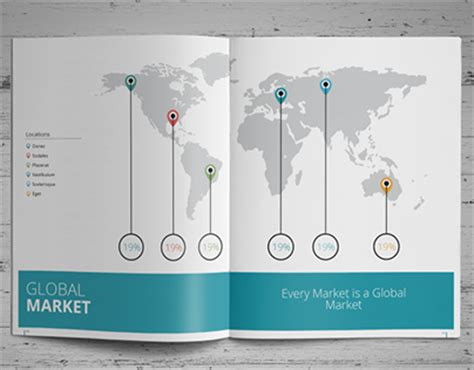 simple annual report template simple annual report template on behance