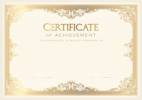 certificate template png clip art image gallery