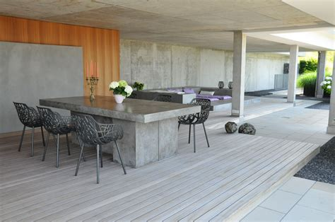 terrasse sichtbeton terrassengestaltung parc s gartengestaltung gmbh