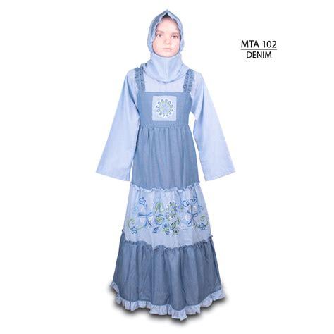 Atm221b 2 Grosir Busana Baju Muslim Anak Perempuan Wanita Cewek grosir baju muslim anak perempuan murah model gamis 90