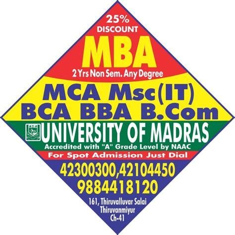 Madras Mba by Of Madras Mba Thiruvanmiyur Sunpack 2x2