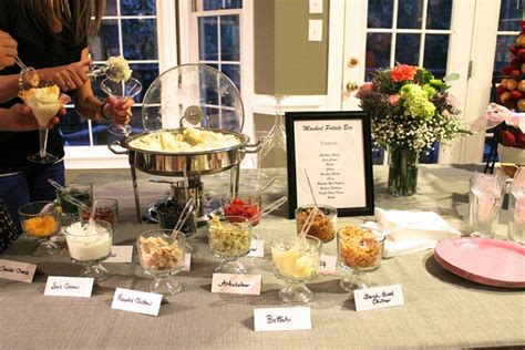 Mashed Potato Bar Toppings by 20 Build Your Own Food Bar Ideas Intentional Hospitality