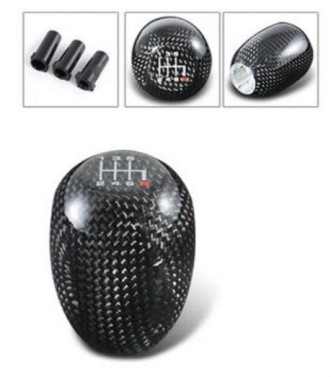 5 6 speed carbon fiber shift knob