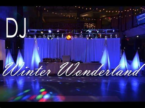high dance dj set up quot winter wonderland quot party