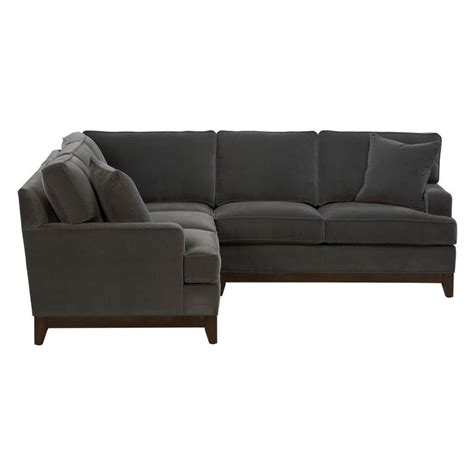 ethan allen leather sectional arcata sectional ethan allen us sofas pinterest