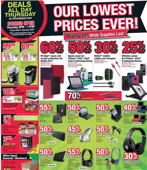 Office Depot Weekly Ad Office Depot Black Friday Ad Black Friday Ads 2016