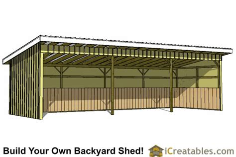 Run In Shed Plans by Run In Shed Plans Building Your Own Barn Icreatables