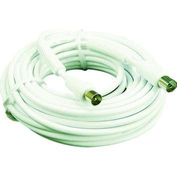 aansluitsnoer karwei elro coax aansluitsnoer an510s wit 10 m kopen audio video