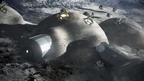 What House Is The Moon In by European Space Agency Wants To 3d Print A Moon Base Cnet