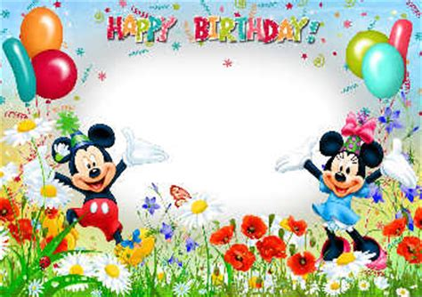 cornici per compleanno pi 249 di 2220 cornici gratuite da bambini per le foto