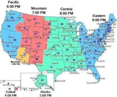 united states timezone map time zones united states map image time zone free