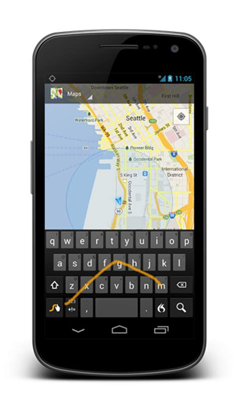 swype for android now available on play redmond pie - Swype For Android