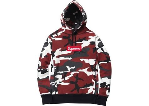 Spureme Fashion 1110 supreme box logo pullover