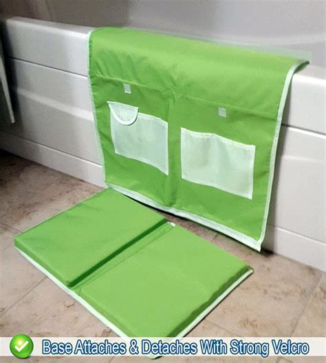 bathtub kneeler baby bath kneeling safety pad storage bathtub kneeler