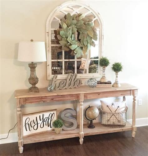 Ideas For Console Table With Baskets Design Best 25 Entryway Console Table Ideas On Console Table Decor Table Decor And