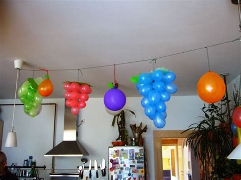 easy party decorations to make at home 7 lovable very easy balloon decoration ideas part 1