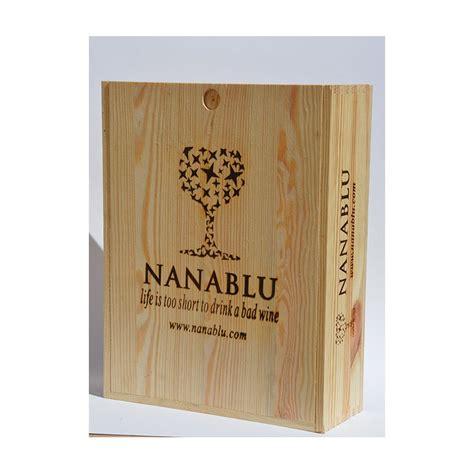 cassette legno per bottiglie cassetta legno da 3 bottiglie c nanablu