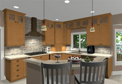 kitchen island shapes l shaped kitchen with island ideas