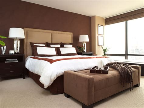 brown bedroom walls joi blog feature walls friend or foe