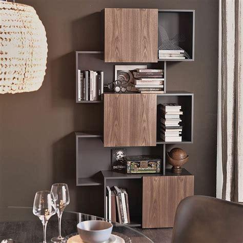 estanter 237 as de madera o cristal para salones de dise 241 o