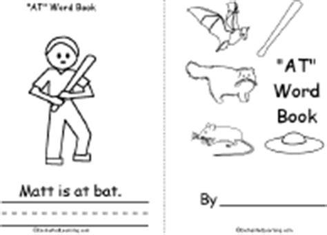 at words book a printable book enchantedlearning