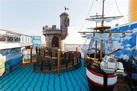 costa fascinosa concordia class cruise liner ship technology