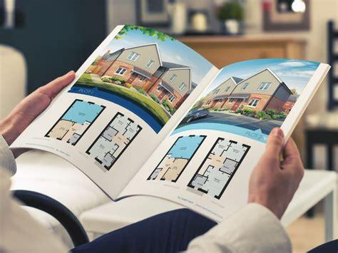 housing brochure design home frontside design