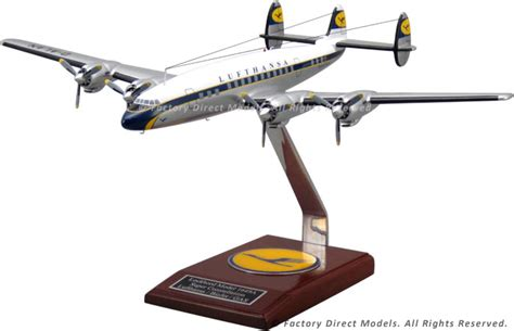 Lockheed L1649A Super Constellation Lufthansa Model Airplane