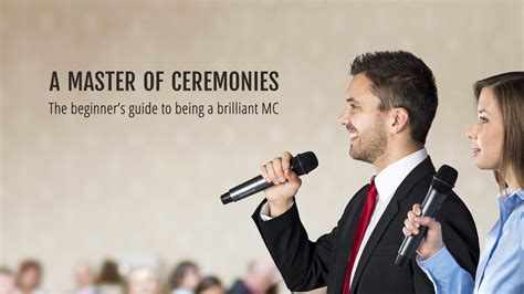 Wedding Mc Script by How To Be A Master Of Ceremonies At A Wedding Birthday Or