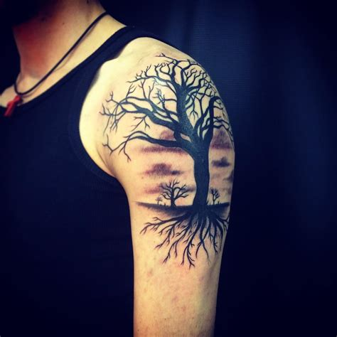 dark tattoos 35 tree designs designs design trends