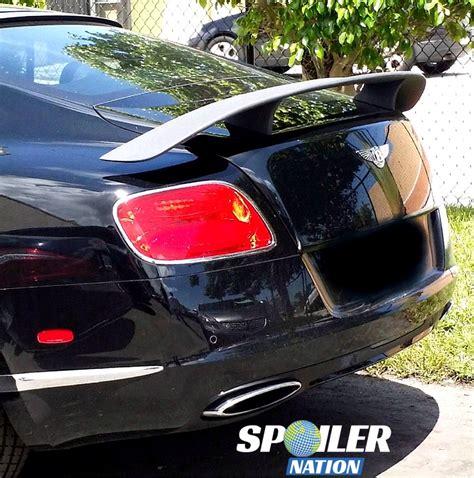 bentley continental gt spoiler 2012 2017 bentley gt coupe sport rear trunk wing spoiler