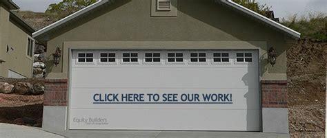Garage Builders Utah by New Custom Garages Construction Garage Builders Salt Lake