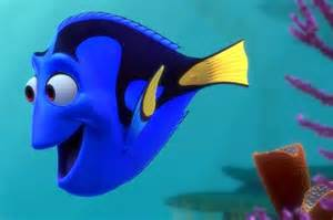 dory swimming coralgardening