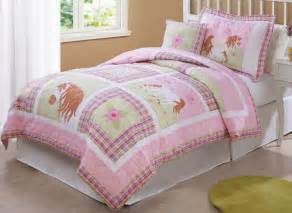 Dinosaur Bedding Queen Horse Bedding In Pink Love My Horse Quilt Twin Or Full